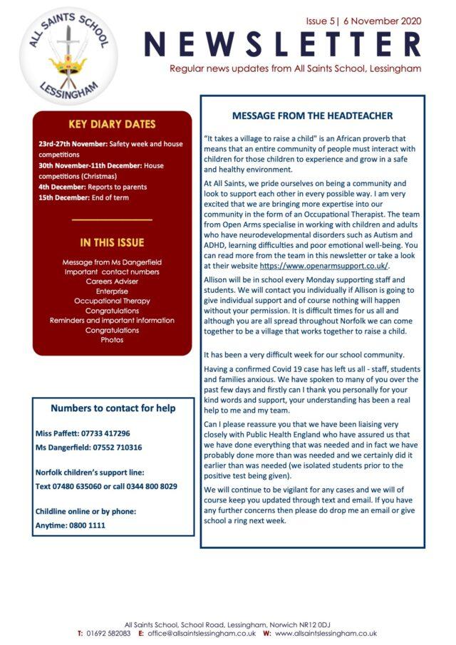 Issue-5-October-Newsletter