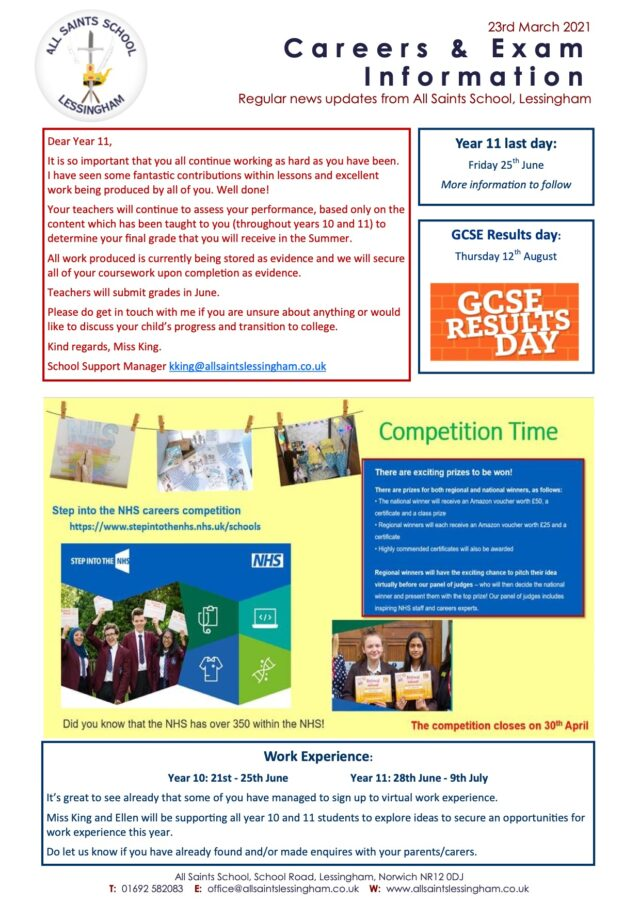 Careers-Exam-Newsletter-March-21